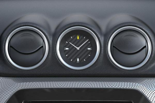 Clock - Carbon Effect Dial - New Suzuki Vitara